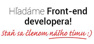 Hladame-fe-developera